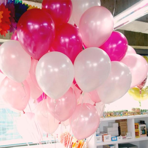 헬륨풍선 핑크톤 [차량배달] 온라인한정