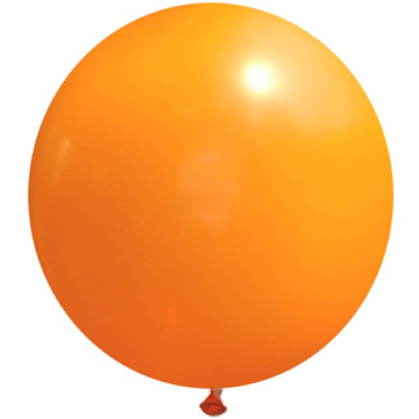 90cm 대형풍선 오렌지(061)