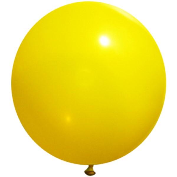 90cm 대형풍선 옐로우(020)