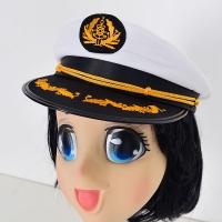 해군모자 화이트