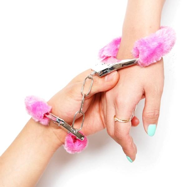 커플수갑 [핑크]