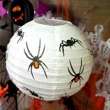 할로윈종이등 30cm [거미]