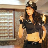 섹시경찰투피스 의상세트