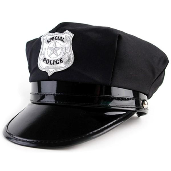 경찰모자 [블랙]