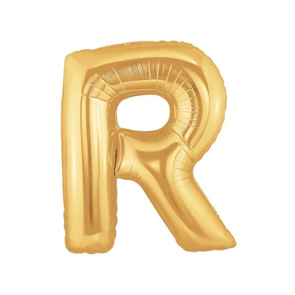 알파벳은박풍선 중 골드 [R]