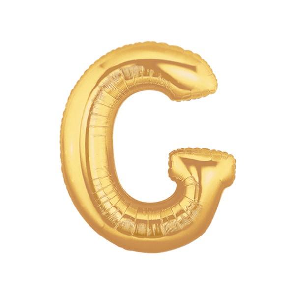 알파벳은박풍선 중 골드 [G]