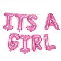 은박풍선세트 IT'S A GIRL