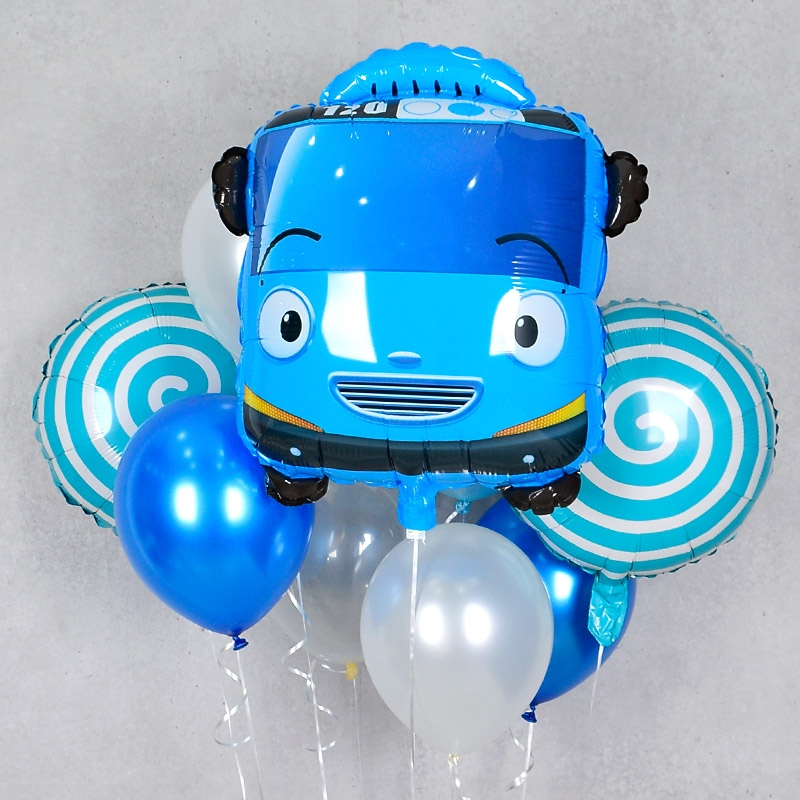 캐릭터 헬륨풍선 꼬마버스 타요 [차량배달] 온라인한정