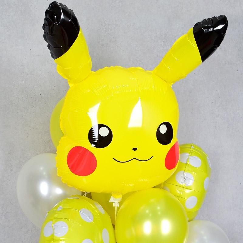 캐릭터 헬륨풍선 피카츄얼굴 [차량배달]