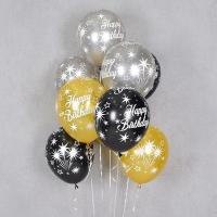 헬륨풍선 생일 스파클 10개묶음 [차량배달] 온라인한정