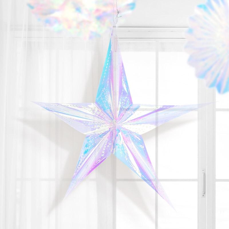 ★주문폭주★ 홀로그램 스타 [오각]