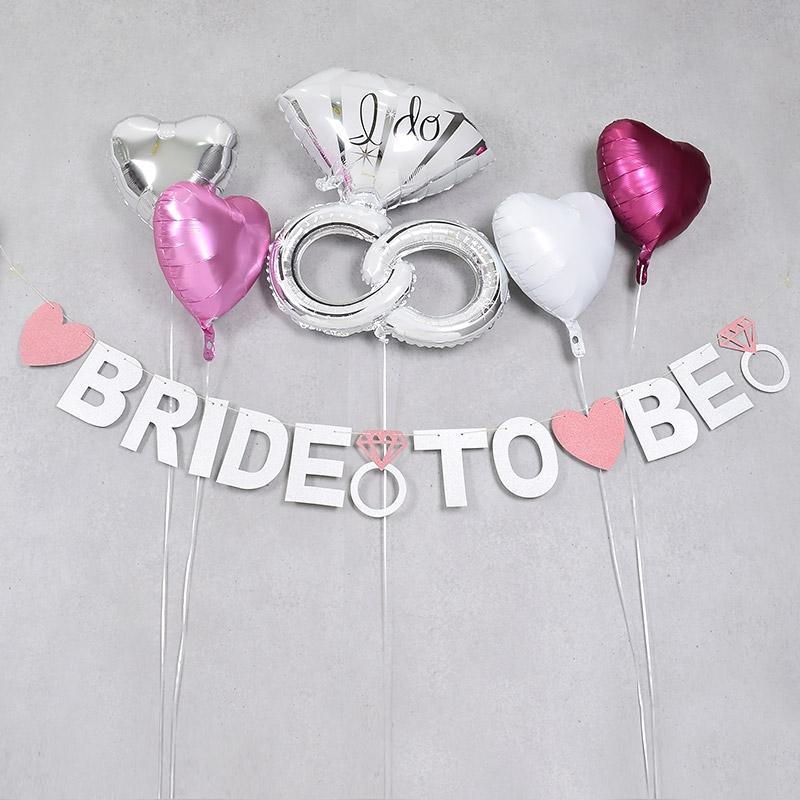 브라이덜 샤워 가랜드 BRIDE TO BE