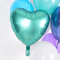 헬륨풍선 은박하트 제이드 [차량배달] 온라인한정
