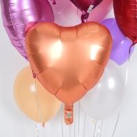 헬륨풍선 은박하트 암버 [차량배달] 온라인한정