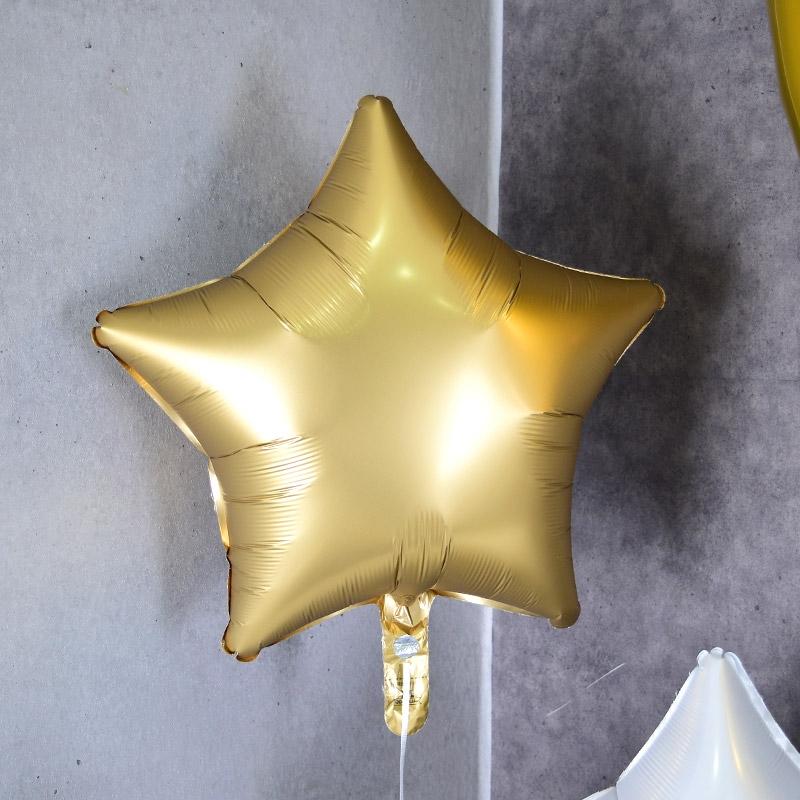 헬륨풍선 은박별 샤틴골드 [차량배달] 온라인한정