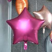 헬륨풍선 은박별 석류 [차량배달] 온라인한정