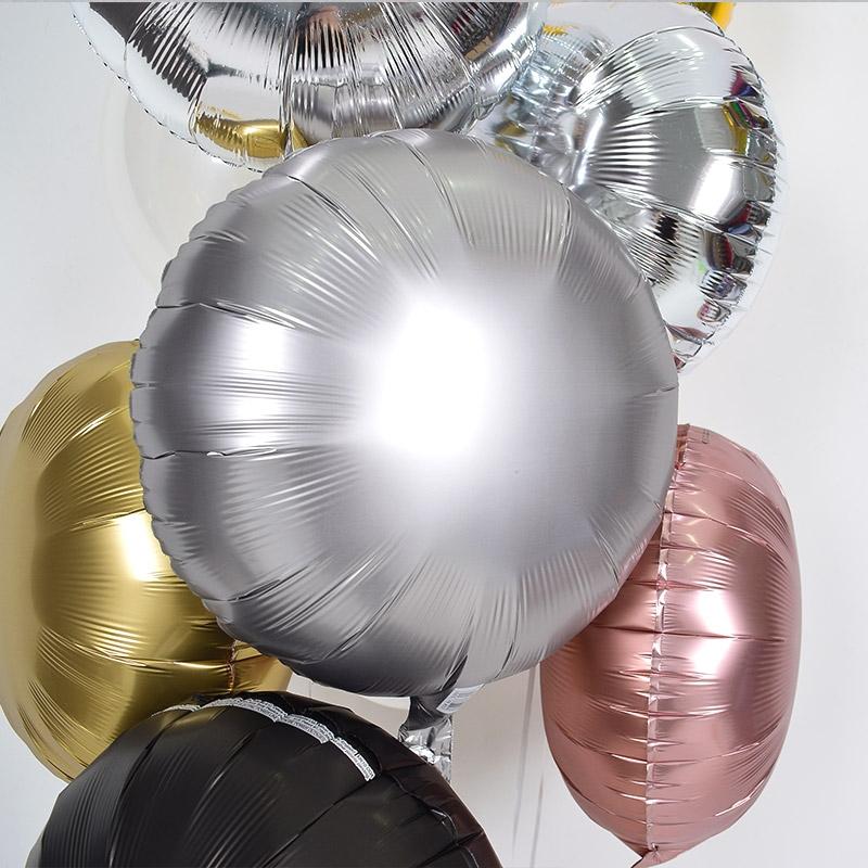 헬륨풍선 은박 라운드 플래티늄 [차량배달] 온라인한정