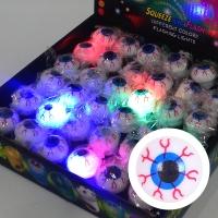 말랑말랑 LED 점등 눈알반지 10개세트 할인 [온라인한정]
