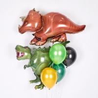 동물은박 헬륨풍선 트리케라톱스 [차량배달] 온라인한정