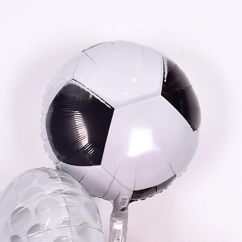 은박헬륨풍선 축구공 [차량배달] 온라인한정