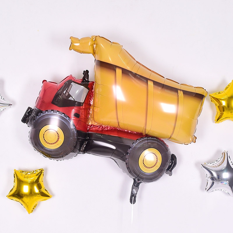 은박헬륨풍선 덤프트럭 [차량배달] 온라인한정