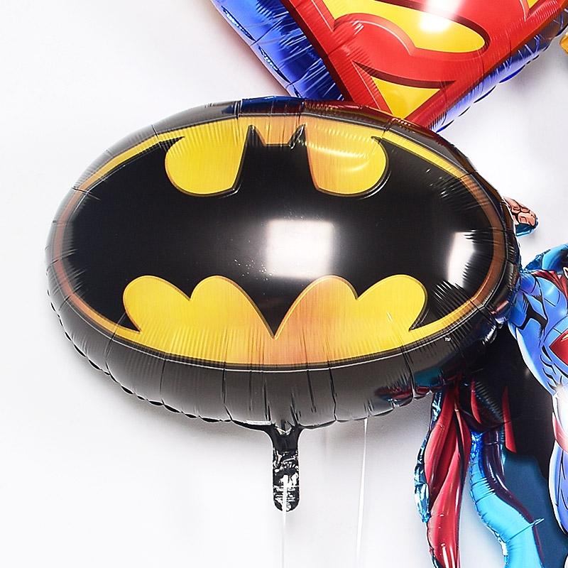 캐릭터은박 헬륨풍선 배트맨 엠블럼 [차량배달] 온라인한정